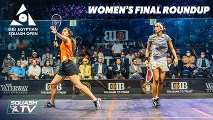 Squash: CIB Egyptian Open 2021 - El Sherbini v Gohar - Final Roundup