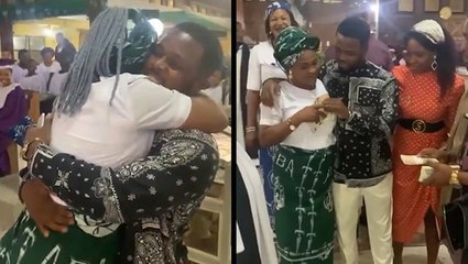 Son Surprises Mom After Seven Years Away