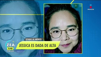 Dan de alta a Jessica, sobreviviente del derrumbe en el Chiquihuite