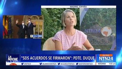 Venezuela, visita a España, reactivación y vacunación en Colombia: Entrevista al presidente de Colombia, Iván Duque