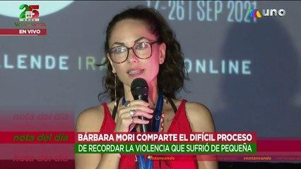 """Bárbara Mori estrenó el corto """"Más fuerte que el miedo"""" en el que refleja su infancia.   Ventaneando"""