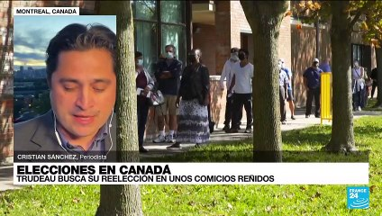 Informe desde Montreal: Justin Trudeau busca su reelección en unos comicios reñidos