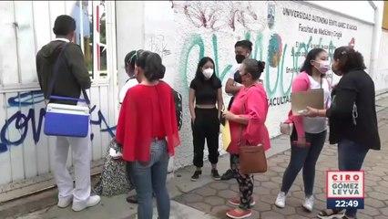 17 niños son vacunados contra Covid-19 en Oaxaca