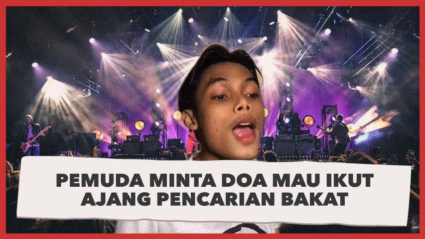 Pemuda Minta Doa Mau Ikut Ajang Pencarian Bakat Menyanyi, Penampilannya Jadi Sorotan