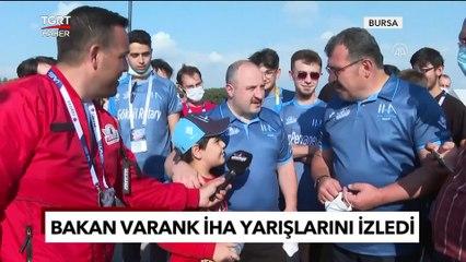 Bakan Varank Liseli Gençlerin İHA Yarışlarını İzledi - TGRT Haber
