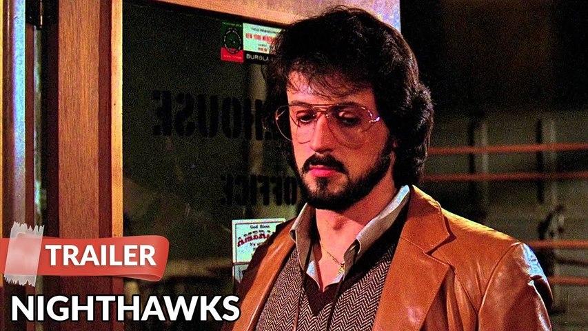Nighthawks - Official Trailer - Sylvester Stallone 1981 Thriller