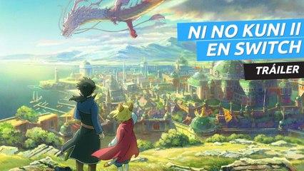 Ni No Kuni II El renacer de un reino Nintendo Switch tráiler
