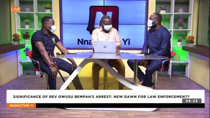 Significance of Rev Owusu Bempah's Arrest: New dawn for law enforcement -  Nnawotwe Yi (18-9-21)