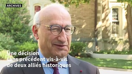 Sous-marins: Paris rappelle ses ambassadeurs aux Etats-Unis et en Australie