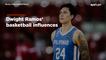 Dwight Ramos' basketball influences