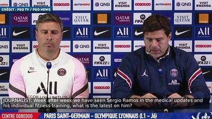 Maurcio Pochettino donne des nouvelles de Sergio Ramos