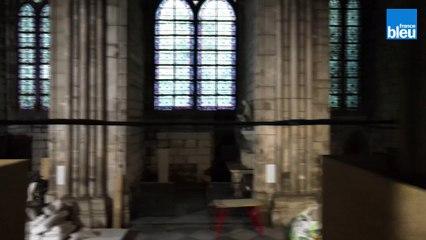 Le chantier de Notre-Dame de Paris