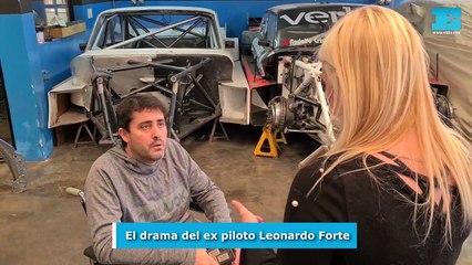 El drama del ex piloto Leonardo Forte