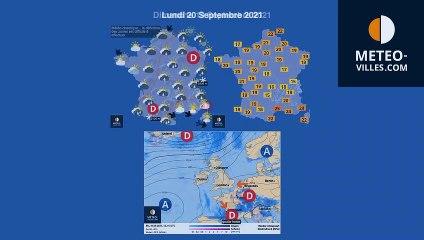 previsions meteo du samedi 18 septembre 2021