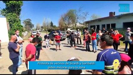 Protesta vecinal en la Delegación de Garibaldi - Sicardi