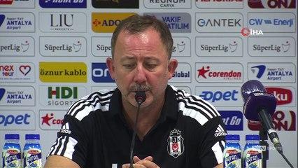 Sergen Yalçın'dan Antalyaspor maçı sonrası önemli açıklamalar - Antalyaspor Beşiktaş 2-3