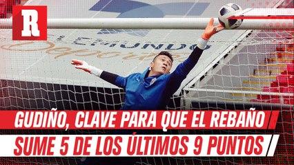 Chivas: Gudiño, clave para que el Rebaño sume 5 de los últimos 9 puntos