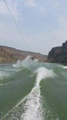Guy Shows Mind-Blowing Backflips Mid Air While Wakeboarding