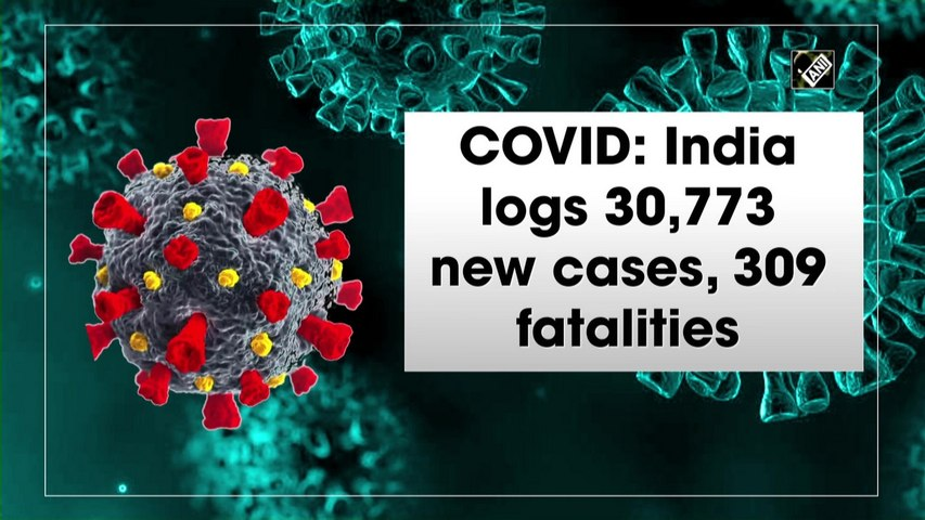 India logs 30,773 new Covid cases, 309 fatalities
