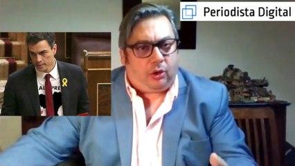 """Fran Simón: """"El Gobierno Sánchez está secuestrado por terroristas e independentistas"""""""