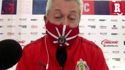 Vucetich: 'Chivas no jugó bien, pero ganó y llegará con fuerza al clásico'