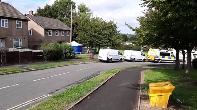 Serious police incident in village near Sheffield
