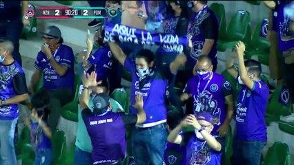 ¡GOOOOOOL! Amador rescató el empate tras grosero error de Freire   Mazatlán FC 2-2 Pumas UNAM