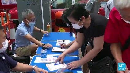 Hong Kong votó para elegir el Comité Electoral según leyes a favor de Beijing