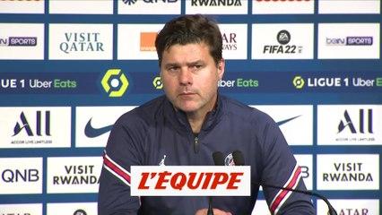 Pochettino a vu une progression contre Lyon - Foot - L1 - PSG