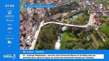20/09/2021 - Le 6/9 de France Bleu Bourgogne en vidéo