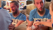 'Excited 6 y/o boy makes stepdad emotional on his birthday by surprising him with adoption papers'