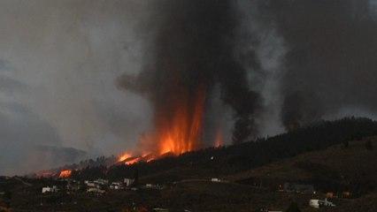 Vulkan Cumbre Vieja ausgebrochen