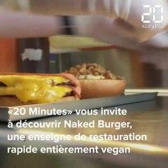 VIDEO. Streetfood : Naked Burger, LE spot pour se faire un burger californien et vegan
