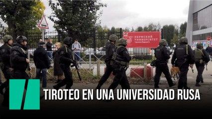 Al menos ocho muertos y 24 heridos en un tiroteo en una universidad de Rusia