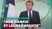 """Macron """"demande pardon"""" aux harkis au nom de la France"""