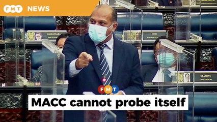 Why didn't police arrest three MACC officers, asks Gobind