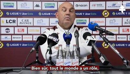 Metz - PSG, la conférence d'avant-match