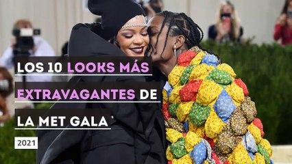 Los 10 looks más extravagantes de la MET Gala