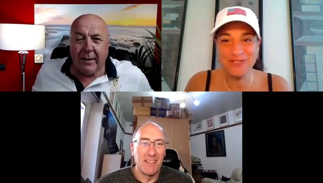 Mel K, Charlie Ward & Simon Parkes