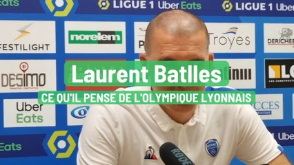 Laurent Batlles – ce qu'il pense de l'Olympique lyonnais
