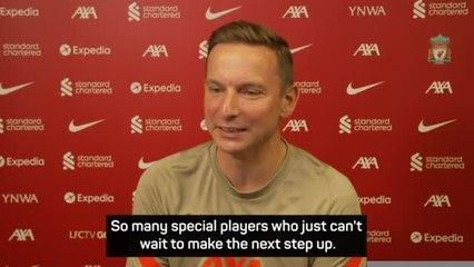 Liverpool's academy has numerous 'diamonds' - assistant manager Lijnders