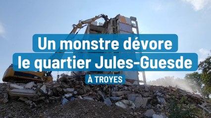 Un monstre dévore le quartier Jules-Guesde