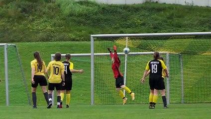 Das 0:1 durch Tamina Meier vom Dransfelder SC beim Bovender SV