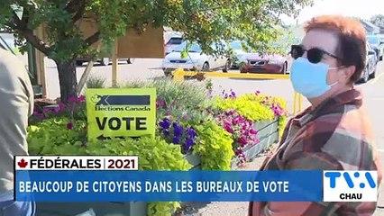 TVA Nouvelles CHAU 12h 20 septembre 2021