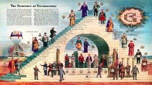 A deusa piramidal e os maçons