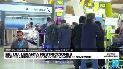 Informe desde Washington: en noviembre se levantarán restricciones a viajeros extranjeros