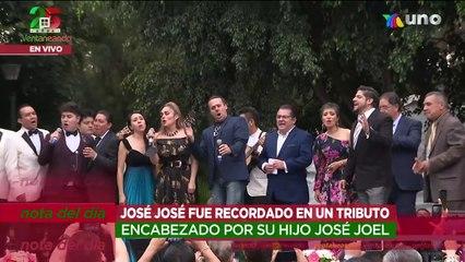 Organizan evento del segundo aniversario luctuoso de José José liderado por su hijo.   Ventaneando