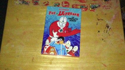 Ultraman Series 8: The Ultraman DVD Unboxing