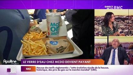 L'info éco/conso du jour d'Emmanuel Lechypre : Le verre d'eau chez McDo devient payant - 28/09