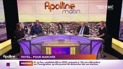 Les histoires de Charles Magnien : Payés...pour marcher, et un Français sur trois parle à ses plantes - 28/09